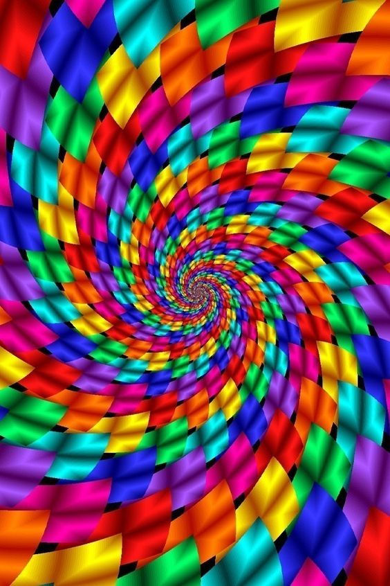 Colorful Optical Illusion | 3) All Things Rainbow ...