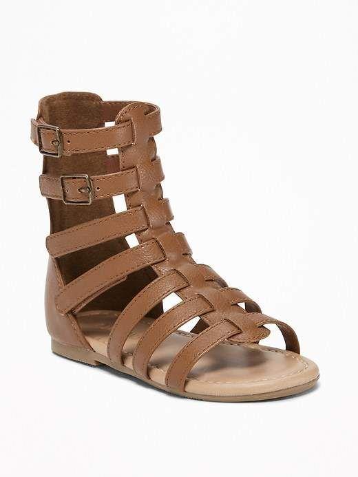 8892daf2b90ed Tall Gladiator Sandals for Toddler Girls & Baby #OldNavy ...