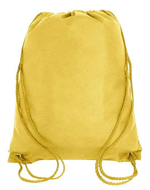 Kids Waterproof Drawstring Backpack Bags Sack Pack Cinch Tote Kids Sport Storage