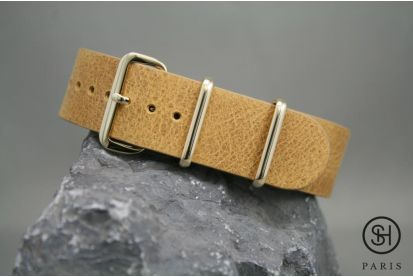 Bracelet Montre Nato Cuir Select Heure Noir Boucles Or Dorees Bracelet Nato Cuir Bracelet Montre Cuir Montre Cuir