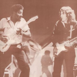 Albert Collins and Rory Gallagher
