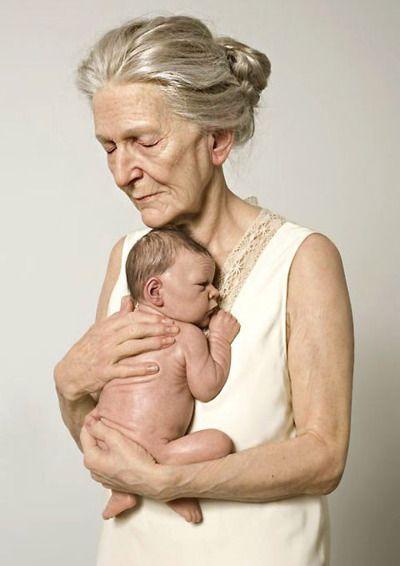 Liebe einer Großmutter. Ich mag die Idee des Bildes. Könnte auch mit Opa oder sogar große Opa zu, wenn sie in der Stadt waren zu tun. gewinnt von