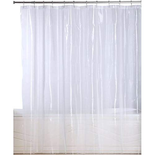 Utopia Bedding Premium Mildew Resistant Shower Curtain Anti Bacterial Heavy Duty Waterproof Liner 72 X 72 Inch Vinyl Shower Curtains Curtains Shower Curtain