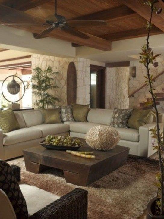 10 Modern And Earthy Living Room Decor Ideas Mommy Thrives In 2020 Earthy Living Room Tropical Living Room Earth Tone Living Room