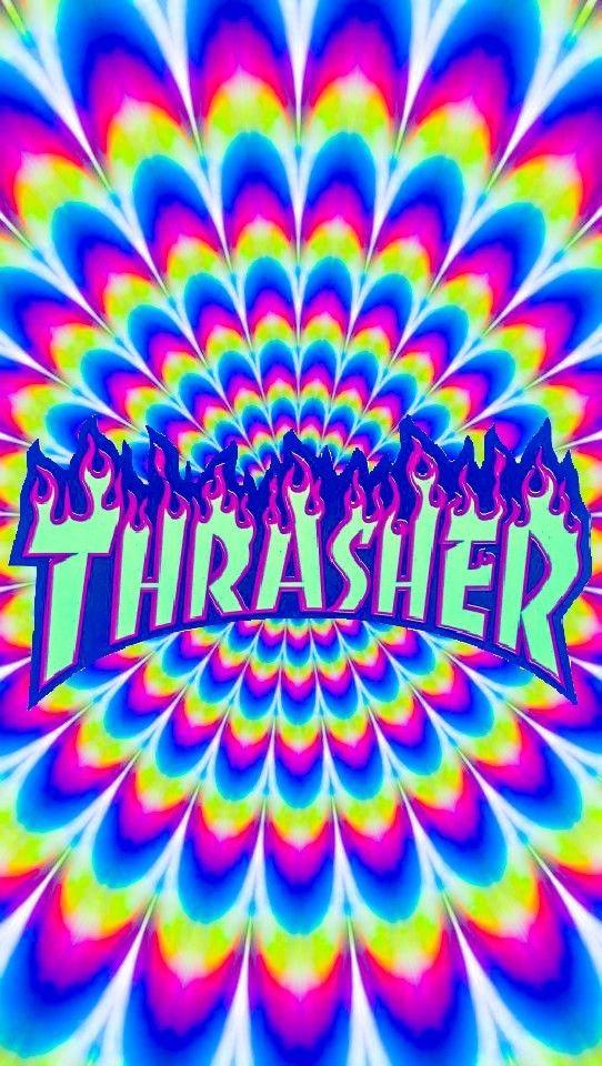 カラフルなスラッシャーのロゴ