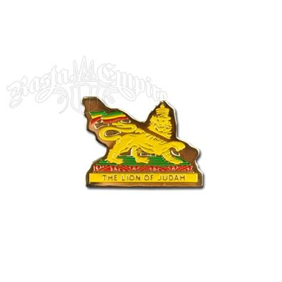 sublime Hat Pins | The Lion of Judah Hat/Lapel Pin @ RastaEmpire.com