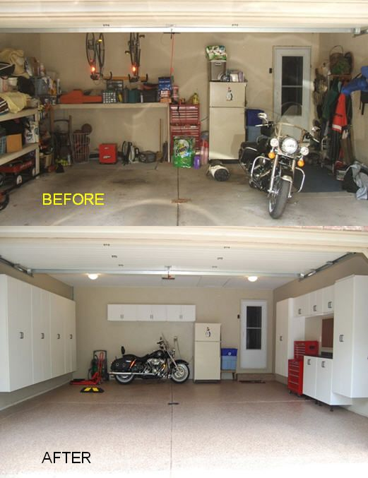 Makeover Dekor Garage Office Setup Ideas Minimalist Decor Minimalism In The Home Before After