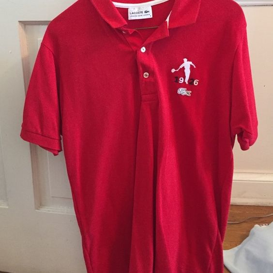 Lacoste men's polo shirt limited edition Only worn a few times Lacoste Shirts Polos