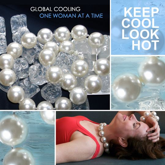 Cooling Necklaces That You Freeze : Hot girls pearls unique design allows your pieces to be