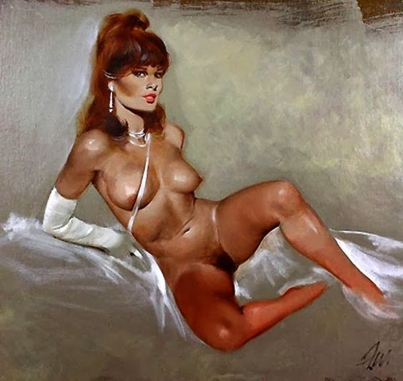 Exotic Painting: Pin-Up