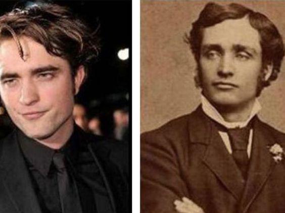 celebridades y sus dobles del pasado