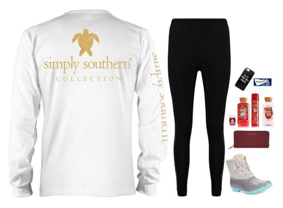 """""""🎤perform🎤"""" by m-scanlon ❤ liked on Polyvore featuring Boohoo, Sperry and MICHAEL Michael Kors"""