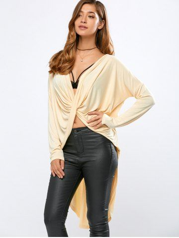 GET $50 NOW | Join RoseGal: Get YOUR $50 NOW!http://www.rosegal.com/t-shirts/high-low-wrap-t-shirt-788181.html?seid=1424208rg788181