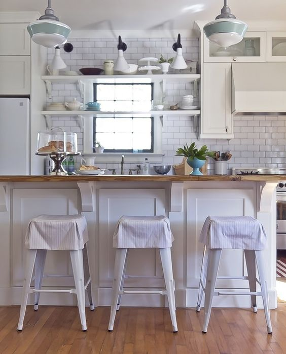 Home Website Save Share White Cottage Kitchen With Large Kitchen