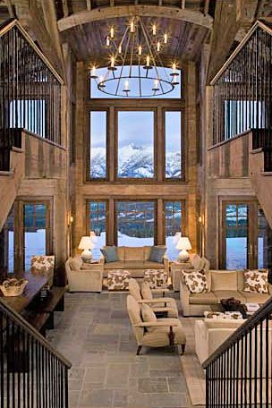 mountain house.  its like a dream...can we say ideal vaca home?!