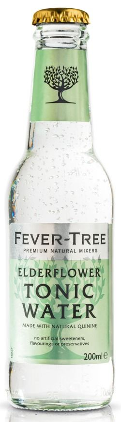 Fevertree Elderflower Tonic Water, going to try with Deep Eddy Ruby Red Vodka