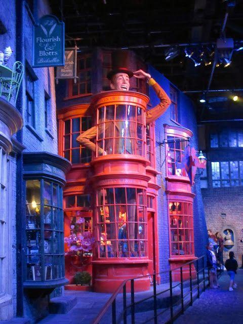 Warner Bros Studio Tour London The Making Of Harry Potter Diagon Alley Harrypotter Harry Potter Studio Tour Studio Tour Harry Potter Studios