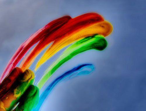 Rainbow colors photography {Part 2}
