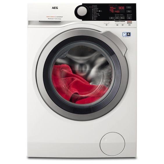 Masina De Spalat Rufe Frontala Aeg L7fbe48s 8kg 1400rpm A 30 Alb Washing Machine Washer And Dryer Aeg