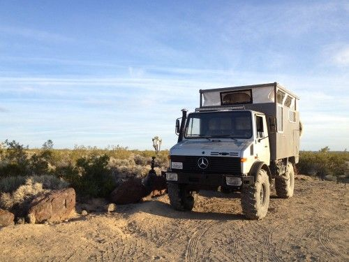 Unimog 1300 Expedition Camper For Sale