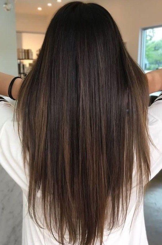 Balayage Frisuren 2020 Stylefrauen De Balayage Frisur Lange Haare Haarfarbe Brunett