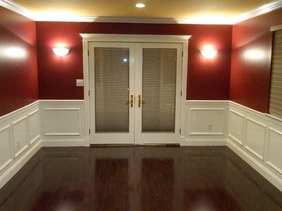 New Hardwood Flooring, Wainscoting
