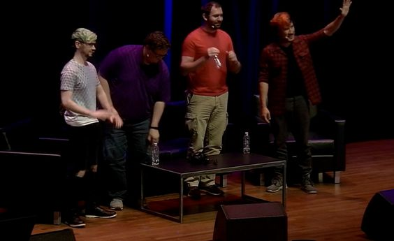 """Mark, Jack, Bob and Wade // Markiplier's """"Panel with friends"""" at PAX West in Seattle, WA 2016"""