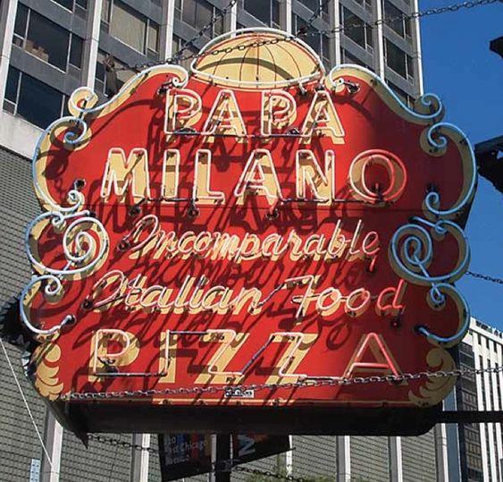 Papa Milano, 1 E. Oak St., Chicago. Closed