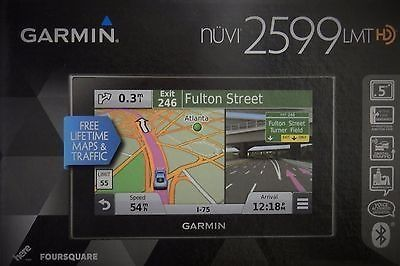 cool Garmin Nuvi 2599 LMT GPS Bluetooth Voice-Activated Lifetime Maps ONO NEW - For Sale View more at http://shipperscentral.com/wp/product/garmin-nuvi-2599-lmt-gps-bluetooth-voice-activated-lifetime-maps-ono-new-for-sale/