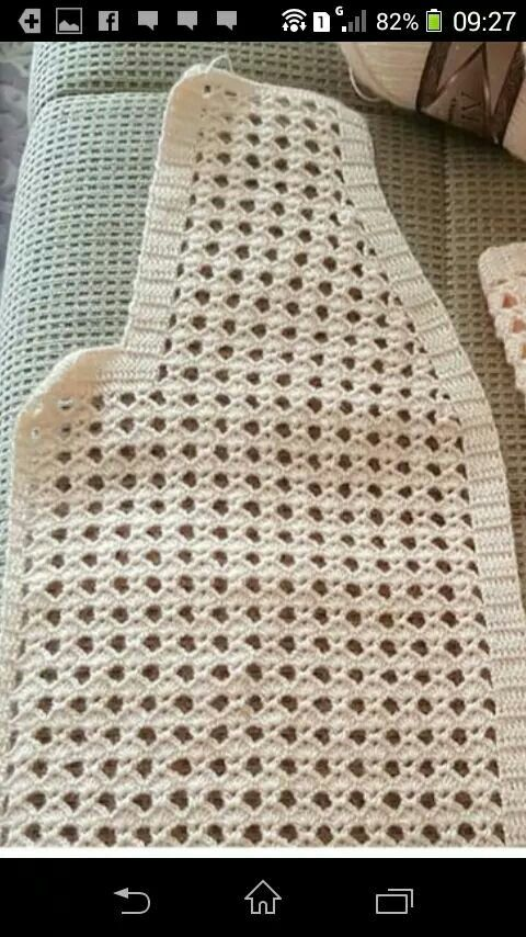 Pin de Betty Ramirez en blusas crochet | Pinterest | Croché ...