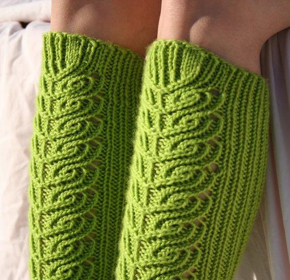 knee high socks - knitting pattern $4.99