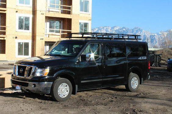 4x4 van roof rack and 4x4 on pinterest. Black Bedroom Furniture Sets. Home Design Ideas