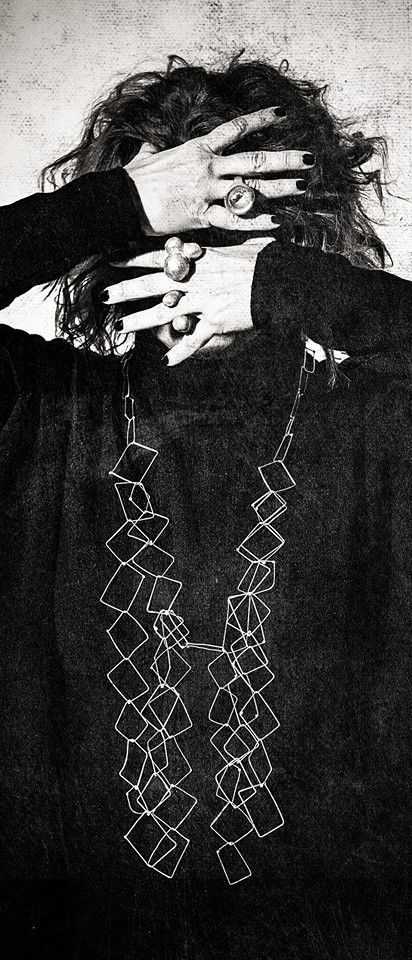 Dora Haralambaki - CRAFTIT - chains serie  - worn