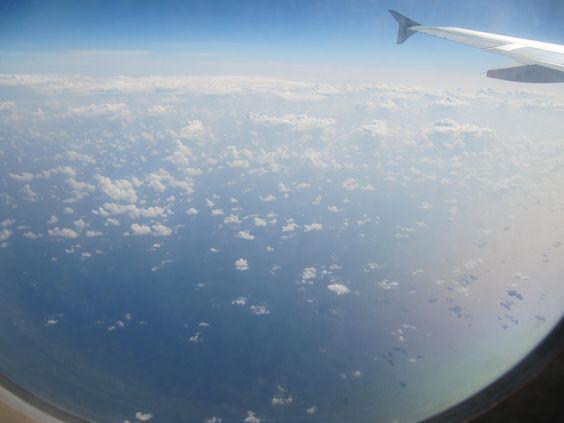 Volando a Cancun
