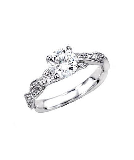 Simon G. Fabled Collection MR1498 Engagement Ring To buy:simongjewelry.com for more info.