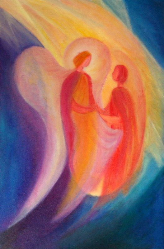 Engelbilder farbtr ume sch nheit f r die sinne malen for Pinterest malen
