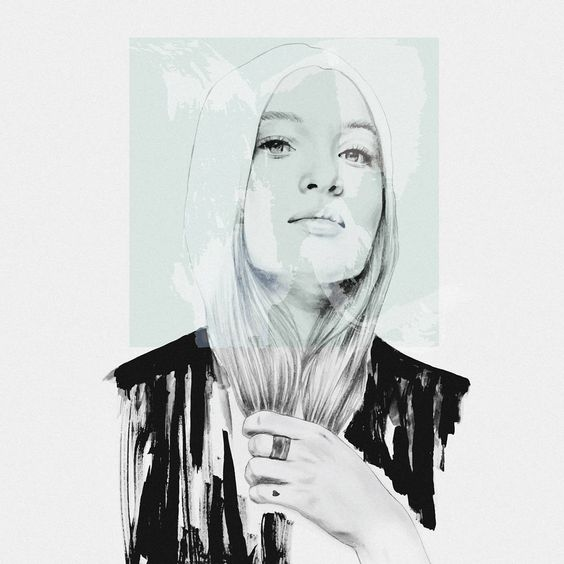 ❤❤❤✊// (photo ref) - - - - #illustration #artwork #pencil #drawing #mood #vsco #vscocam #fashionillustration #portrait #ink #blackandwhite #art #fashionsketch  By Tantowi Gilang Pratikto