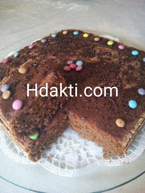 كيك بدون سكر Desserts Food Brownie