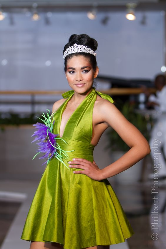 Miss Guyana World 2012 Arti Cameron - Michelle Cole Designs:
