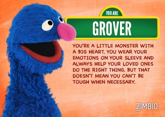 Which Sesame Street Character Are You Sesame Street Quotes Sesame Street Characters Sesame Street