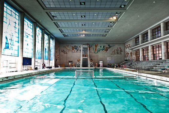 piscina olimpica complesso natatorio foro italico roma
