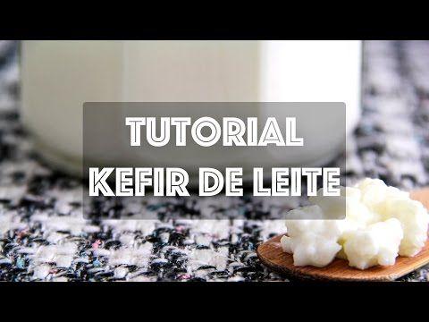 KEFIR DE LEITE - Como cultivar Kefir de Leite e suas Variações - YouTube