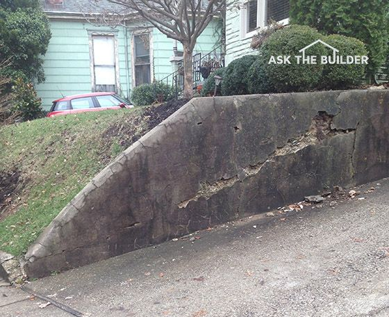 How To Repair Stucco And Concrete Block Concrete Blocks Concrete Retaining Walls Concrete Block Walls