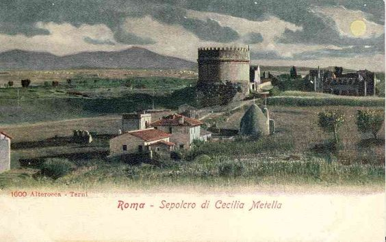 Ancient Rome in vintage postcards