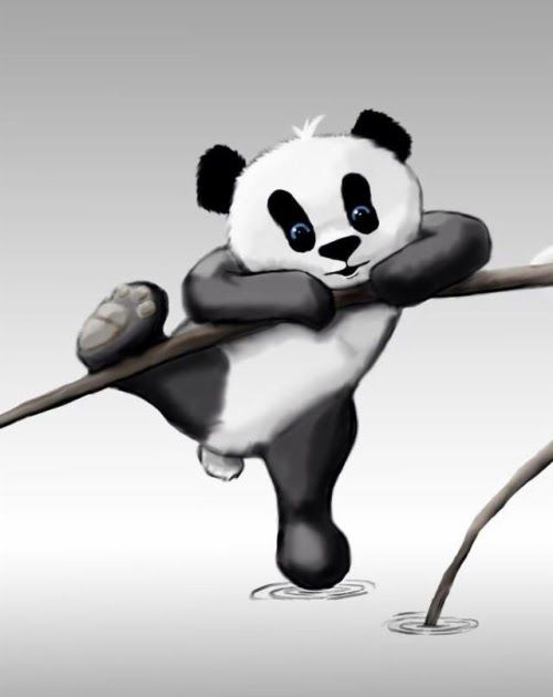 Paling Keren 15 Gambar Wallpaper Panda Imut Di 2020 Bayi Hewan
