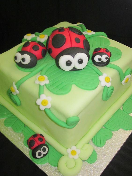 """Sublime Cake Creations  """"ladybug family"""""""