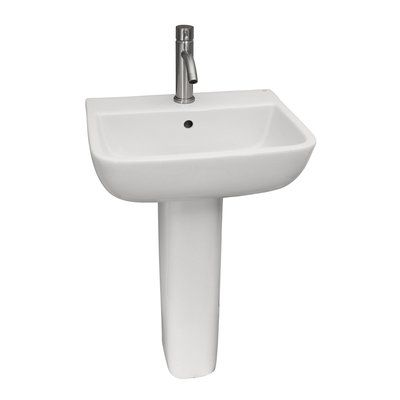 Barclay Series Lavatory Vitreous China 20 5 Pedestal Bathroom