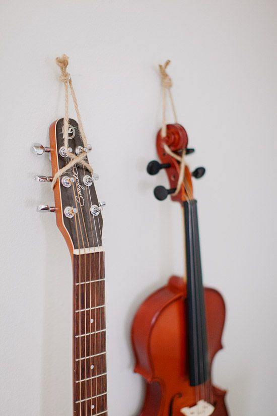 7 Ways To Display Musical Instruments At Home