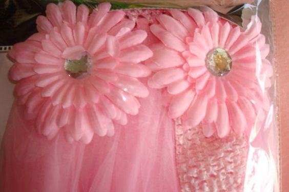 Girls Baby Shower Diaper Cake Kit Fancy Diaper Cake by trishah55