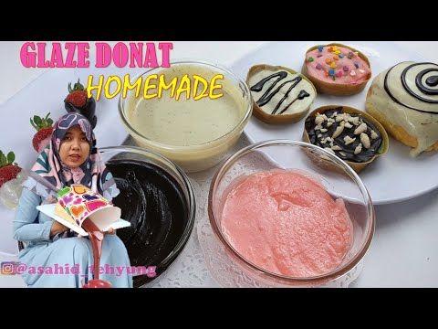 Cara Bikin Glaze Donat Warna Warni Homemade Chocolate Strawberry Greentea Youtube Ide Makanan Makanan Makanan Dan Minuman